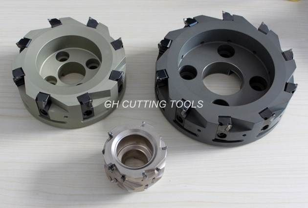 PCD Face Milling Cutter