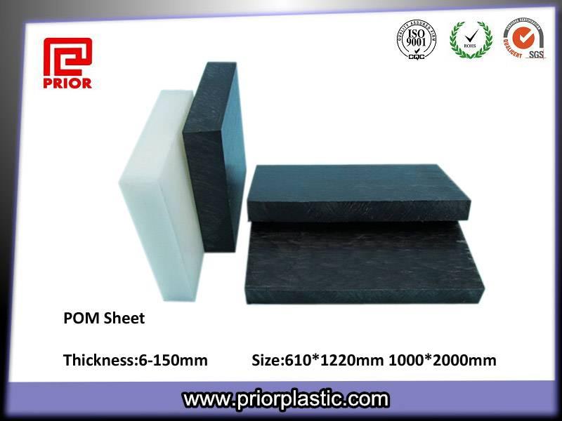 Acetal black PoM pallet 3mm board