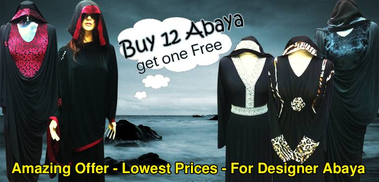 Designers cut latest designs Dubai Abaya 2013