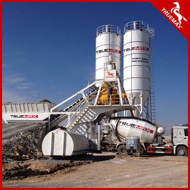China Supplier Stationary Concrete Mixing Plant