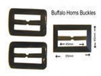 Buffalo Horn Buckles