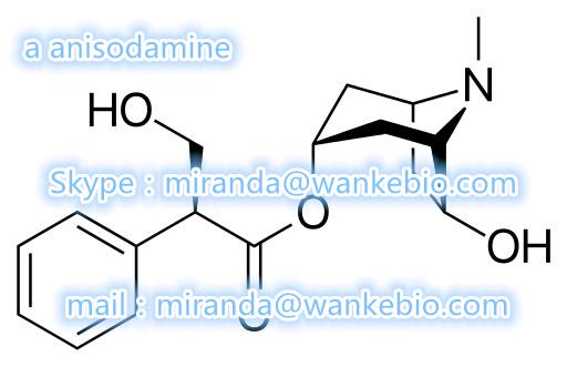 a anisodamine 55869-99-3 C17H23NO4 maf 2fdck bk etizolam mail/skype:miranda(@)wankebio.com