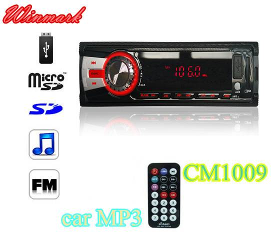 cheap car mp3 car audio with usb sd fm aux CM1009L 4*10W