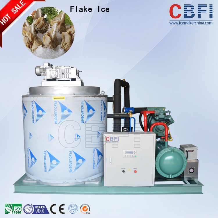 Icesource Hot Sale Ice Flake Machine for Fishery BF10000 10000kgs per 24 Hours
