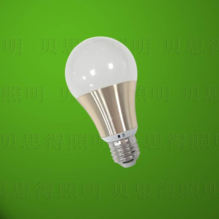 Die-Casting Aluminum Golden LED Bulb light 9W