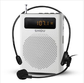 New Arrival S268 Waistband Portable Voice Amplifier with FM Radio and LED display