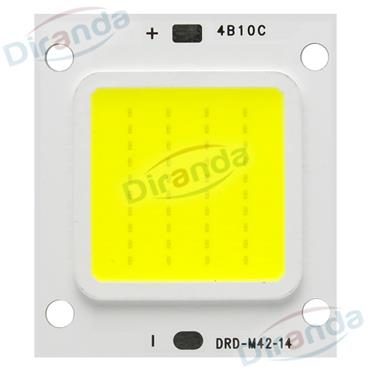 Flip chip design high power led cob 100w COB led chip with luminous efficacy 120-140lm/w