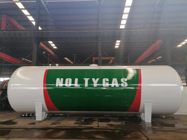 Soncap Certificated 1.77MPa 40000 kg 80CBM Q345R Material LPG PROPANE STORAGE TANKER for Nigeria
