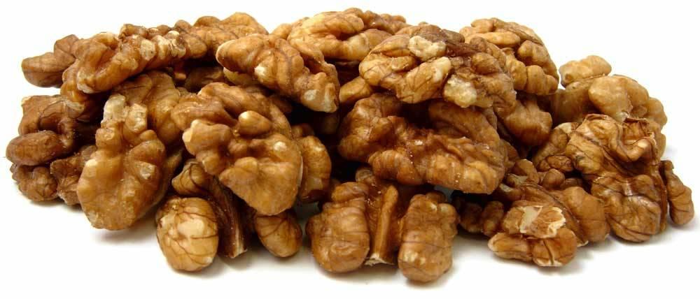 Walnut & walnut kernels