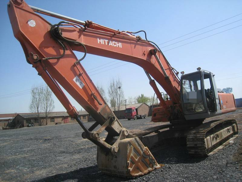 Used Hitachi EX350 hydraulic excavator