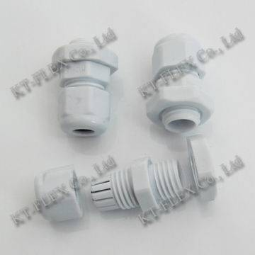 Grey waterproof PG36 cable gland