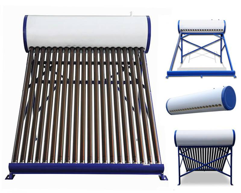 Compact vacuum tube solar water heater,solar hot water heating system