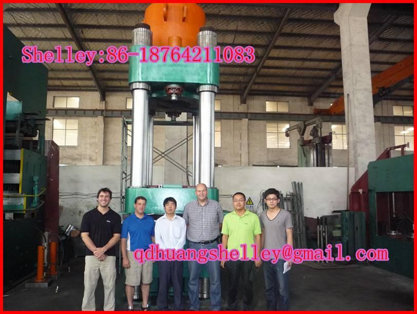 Rubber Hydraulic Vulcanizing Press
