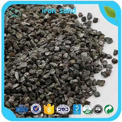 High Density Iron Sand 6.8-7.2 T/m3 Counterweight Iron Sand For Balance Weight