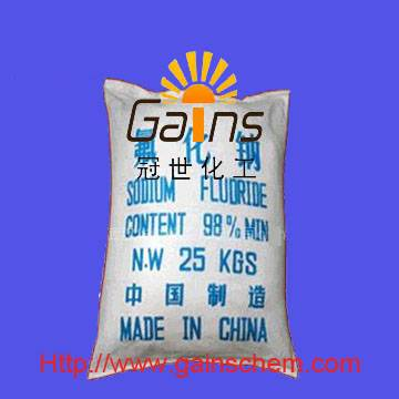 sodium fluoride(SF),CAS: 7681-49-4