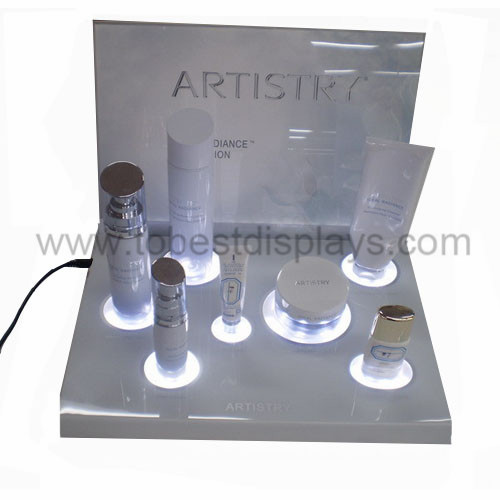 LED acrylic cosmetics display