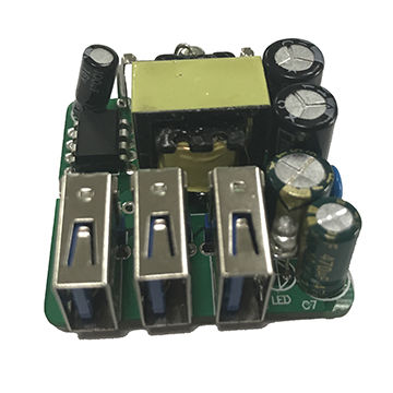 AC-DC 15W poen frame power supply DK124 5V3A 3USB
