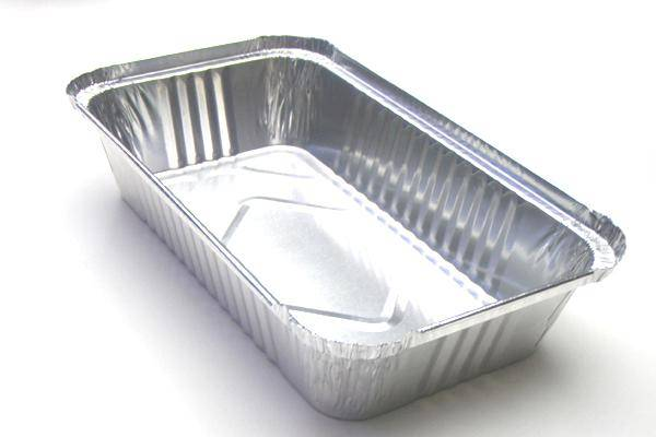 Aluminum foil container 'rectangle'