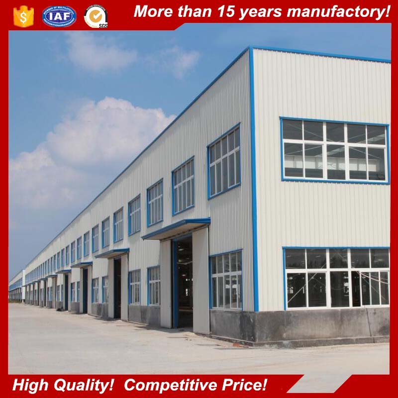 China customized factory construction design light multi floor steel structure warehouse