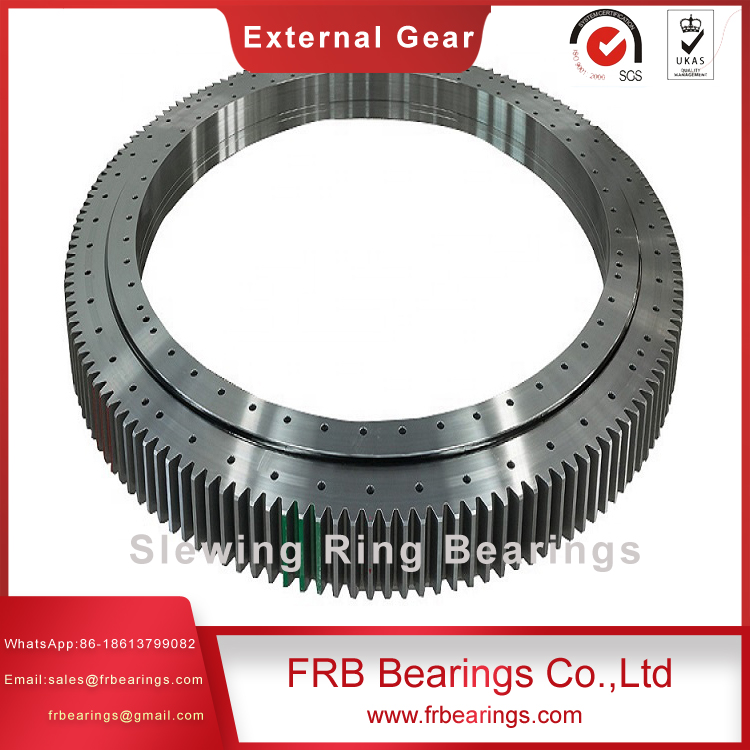 AGV intelligent robot trolley special cross roller slewing bearing 111.12.222