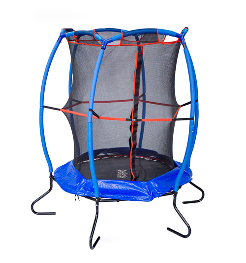 55'' Round Trampoline with enclosure net