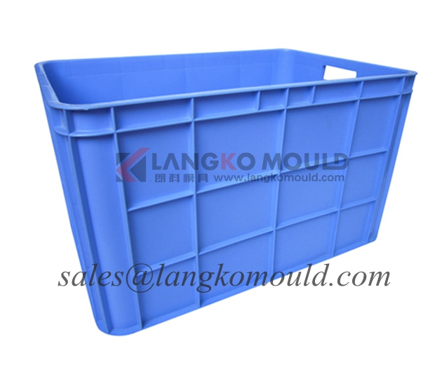 plastic crate mould for seafood