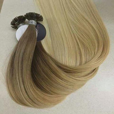 Wholesale keratin Flat tip human hair extensions vendors of Vietnam