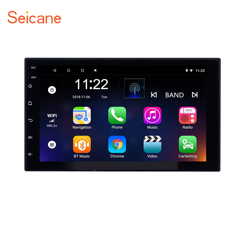 7 inch Android 8.1 Touchscreen Car Radio Universal for VW Hyundai KIA Nissan TOYOTA COROLLA Suzuki