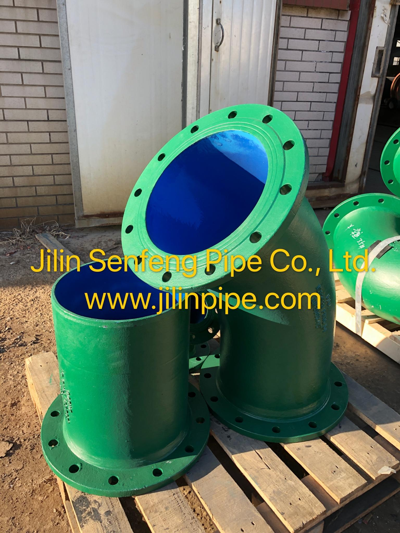 Flanged Spigots ductile iron pipe fittings ISO2531 BSEN545 BSEN598