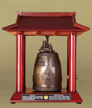 Miniature Bell (Korean traditonal bell), (Model Number : Eletronic Melody Bell)