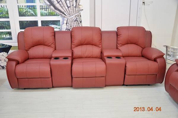 Genuine leaher sofa sets