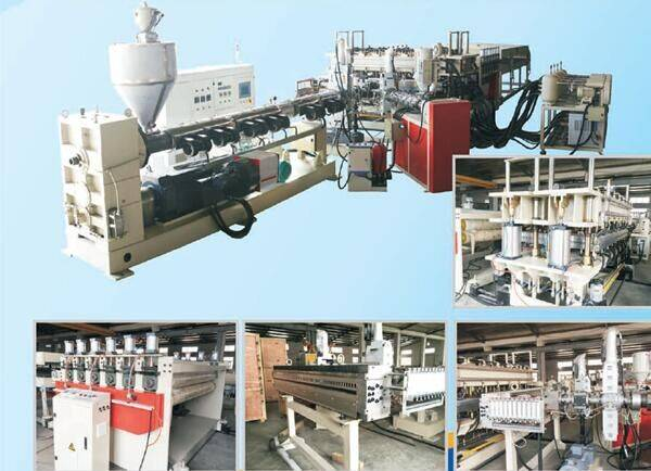 PC/PP Hollow PC/PP Hollow Plate Extrusion Line