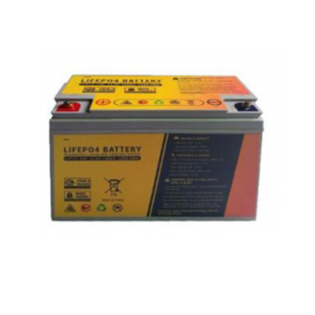 Lifepo4 rechargeable battery based on the original lithium-ion 12.8v 100ah