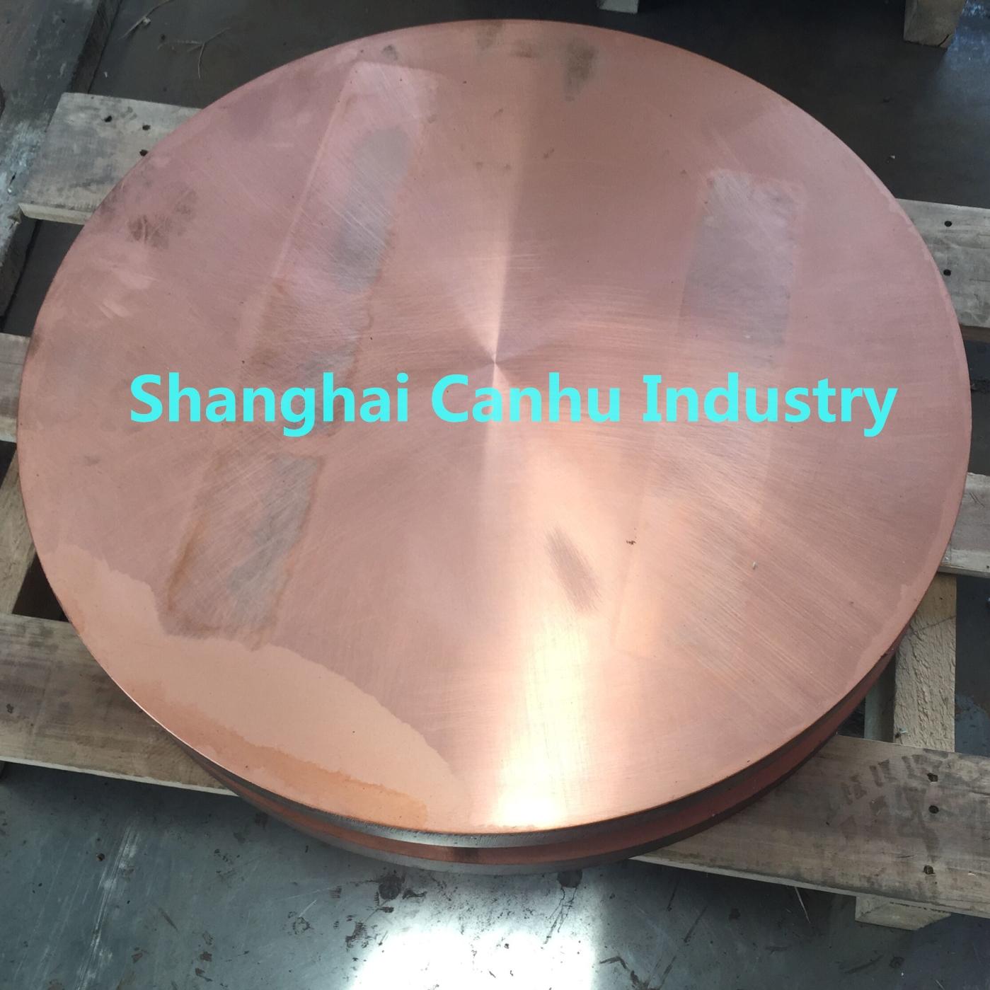 C18150 Chromium Zirconium Copper Disc