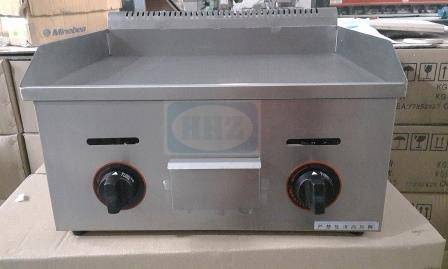 Stainless steel gas griddle/ table top flat plate griddle--718