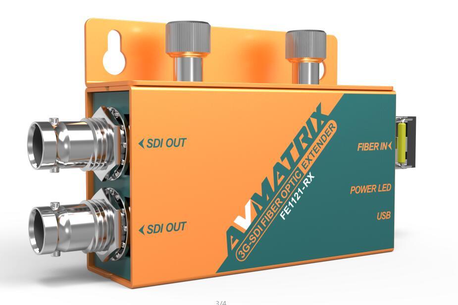 SDI to Fiber Optical Converter FE1121 Receiver