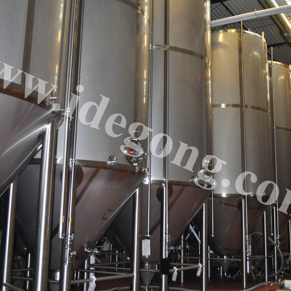 Stainless steel beer tank