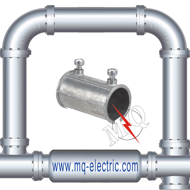 Electrical Metallic Tubing Galvanized Coupling for wire pipe