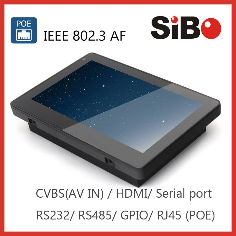 SIBO Q896 Embedded Rugged Tablet PC With POE