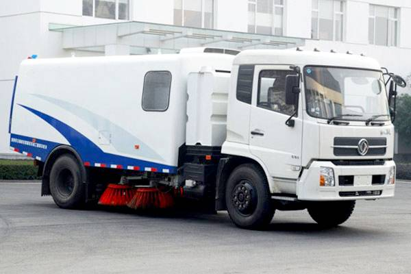 YHJ5163 truck mounted road sweeper