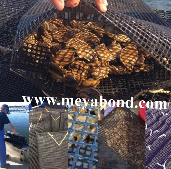 oyster growing equipment floating oyster mesh bags