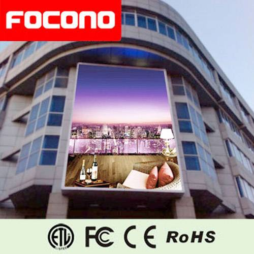 Full Color Big LED Display for Mall buildings