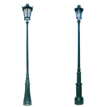Outdoor Decorative Street Lighting Poles Garden Lamp Post
