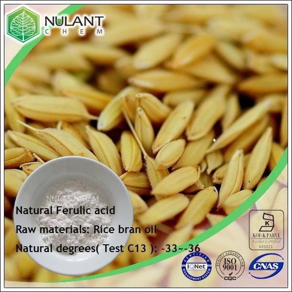 natural ferulic acid 98%