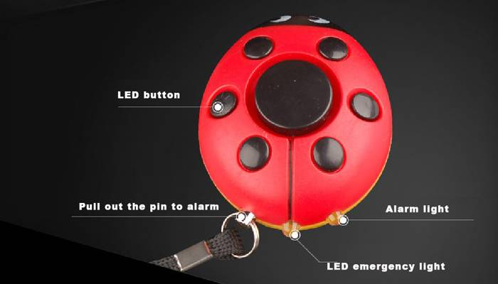 Ladybug alarm Personal alarm