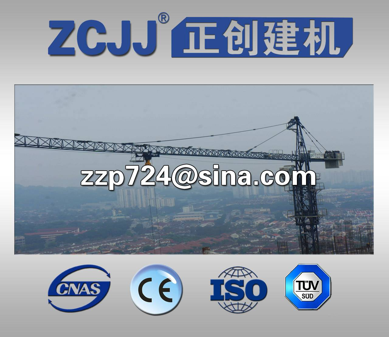hot-selling of TC6015 tower crane