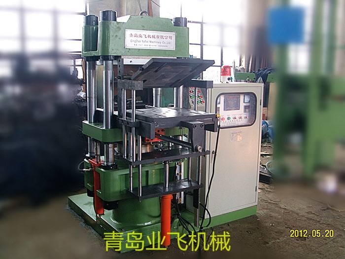 Automatic turning plate vulcanization machine