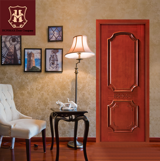 HONMAX Chinese style interior solid wood door great quality supply from Chinese factory &OEM