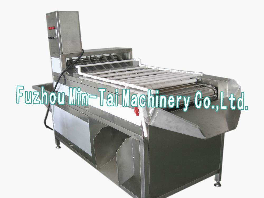 Egg shelling machine