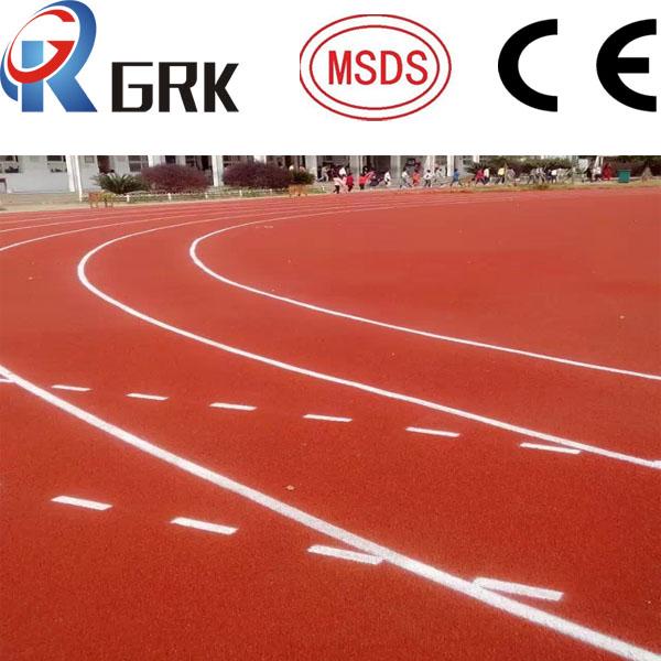 rubber tartan track surface (Spray coat)